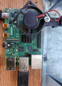 Added Cooling fan to PI4
