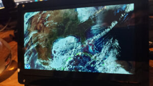 CONUS N America with the GLM (Goes Lightning Mapper)